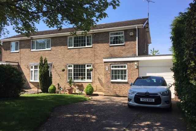 Thumbnail Semi-detached house for sale in Dryden Road, Scunthorpe