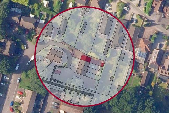 Aerial Map of Wetherby Court, Totton, Southampton SO40