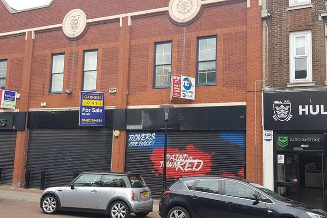 Thumbnail Retail premises for sale in 16-17 Savile Street, Hull, East Yorkshire