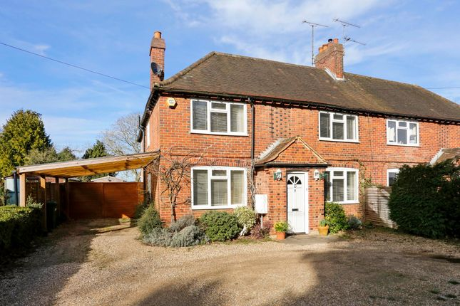 Thumbnail Semi-detached house to rent in Remenham Hill, Remenham, Henley-On-Thames