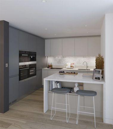 Kitchen- CGI of Bayside Apartments, Brighton Road BN11