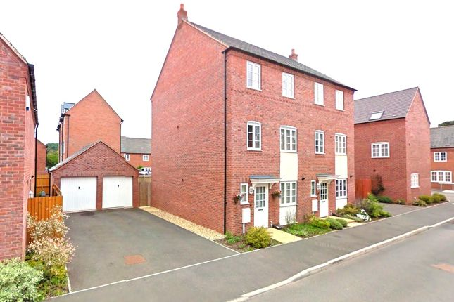 Thumbnail Town house to rent in Pipistrelle Drive, Market Bosworth