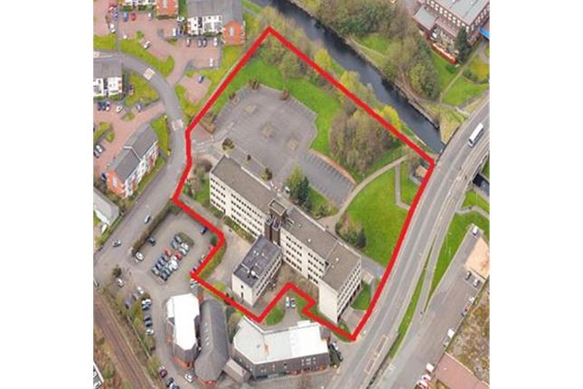 Thumbnail Land for sale in Fomer Council Offices, Rosebery Place, Clydebank, West Dunbartonshire, Scotland