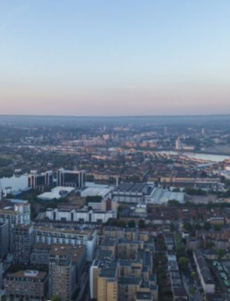 Thumbnail Flat for sale in Wardian, West Tower, London