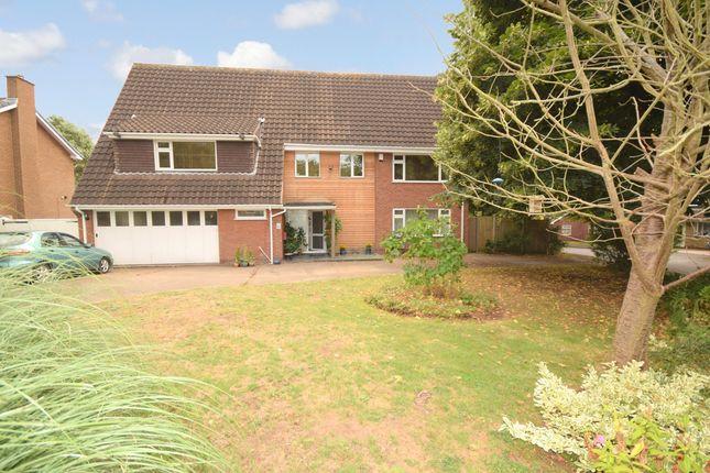 Thumbnail Detached house for sale in Groveside Crescent, Clifton Village, Nottingham