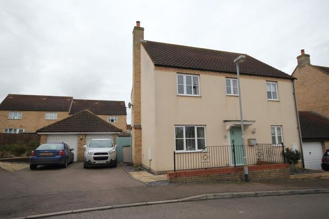 Thumbnail Detached house for sale in Darwin Close, Ely