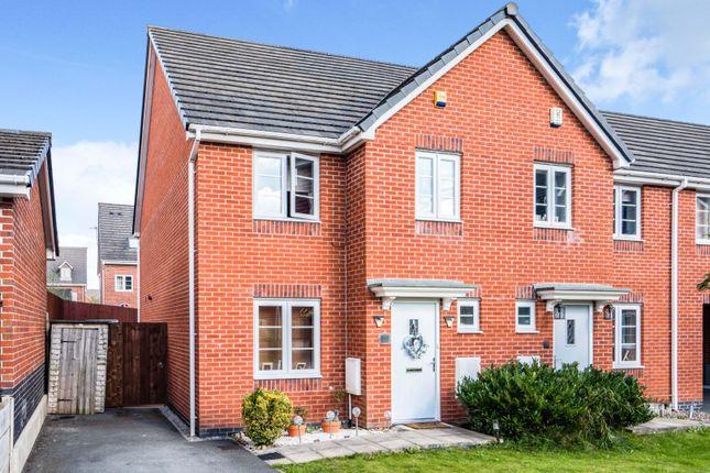 Thumbnail Semi-detached house for sale in Phoenix Place, Warrington