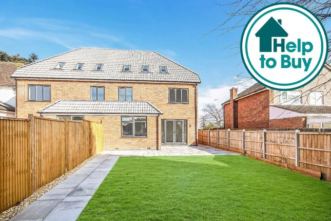 Thumbnail Semi-detached house for sale in Leicester Road, Glen Parva, Leicester