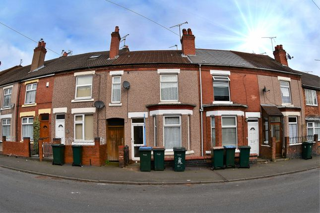 Thumbnail Terraced house to rent in Hollis Road, Stoke, Coventry
