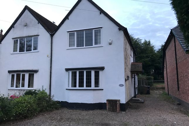 Thumbnail Semi-detached house to rent in Foley Road West, Sutton Coldfield