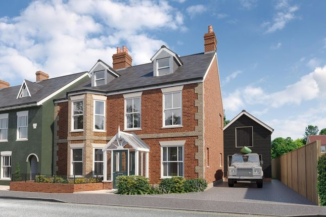 Thumbnail Semi-detached house for sale in Western Road, Lymington