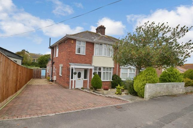 Thumbnail Semi-detached house for sale in Melcombe Avenue, Weymouth