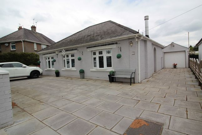 Thumbnail Detached bungalow for sale in Heol Gabriel, Whitchurch