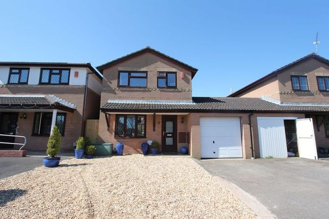 Thumbnail Detached house for sale in Churchfields, Barry