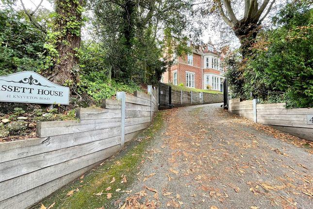 Thumbnail Flat for sale in Knyveton Road, Bournemouth