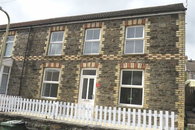 Thumbnail End terrace house for sale in Foundry Road, Hopkinstown, Pontypridd