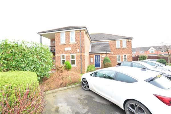 Thumbnail Flat for sale in Flat 3, Maple Court, Winsford