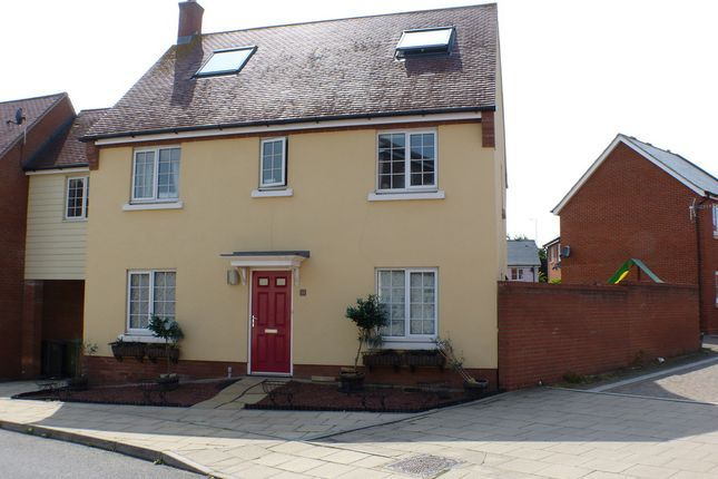 Thumbnail Link-detached house to rent in Baker Way, Witham