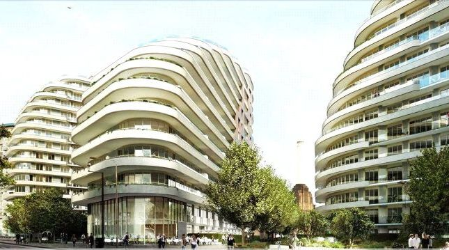 2 bed flat for sale in Sophora House, Vista, Queenstown Road, London