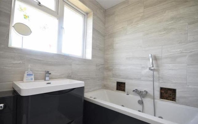 Bathroom of Poulton Avenue, Sutton SM1