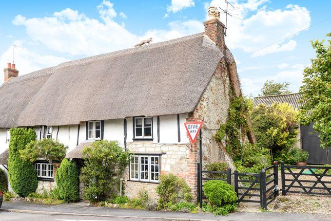 Thumbnail Semi-detached house for sale in Ashbury, Swindon