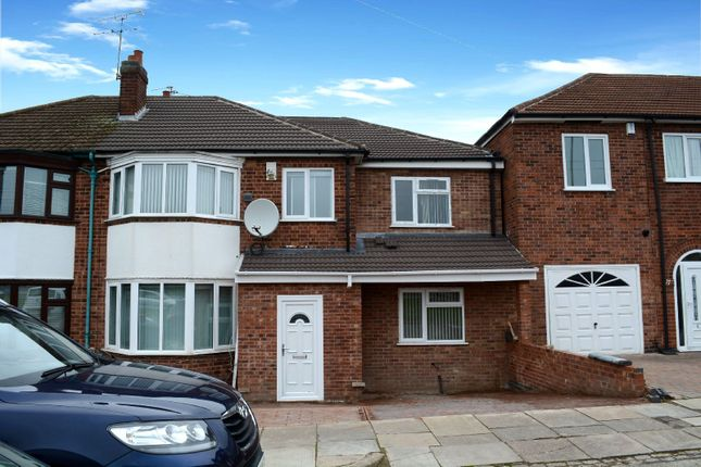 Thumbnail Semi-detached house for sale in Asquith Boulevard, West Knighton, Leicester