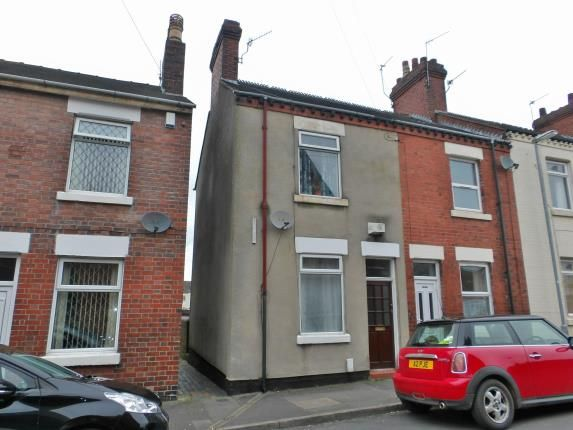 Thumbnail End terrace house for sale in Nelson Street, Newcastle, Staffordshire