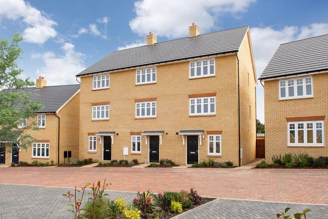 """Thumbnail End terrace house for sale in """"Haversham"""" at Southern Cross, Wixams, Bedford"""