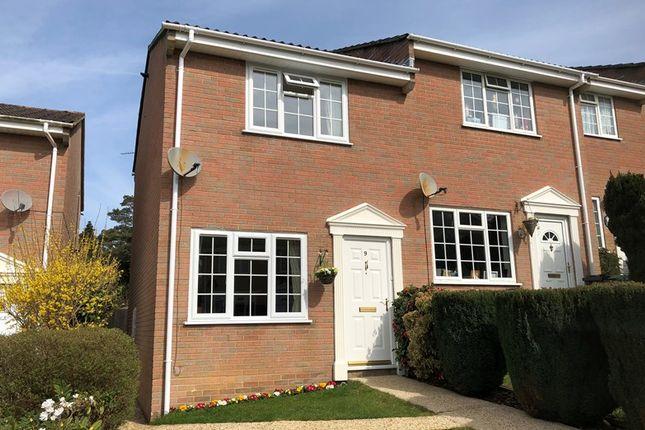 Thumbnail End terrace house for sale in Marian Road, Corfe Mullen, Wimborne