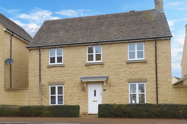 Thumbnail Detached house to rent in Elmhurst Way, Carterton, Oxfordshire