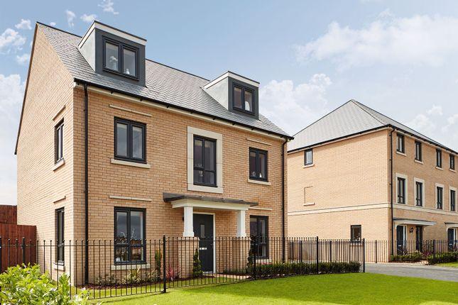 "Thumbnail Detached house for sale in ""The Fordham"" at Radwinter Road, Saffron Walden, Essex, Saffron Walden"