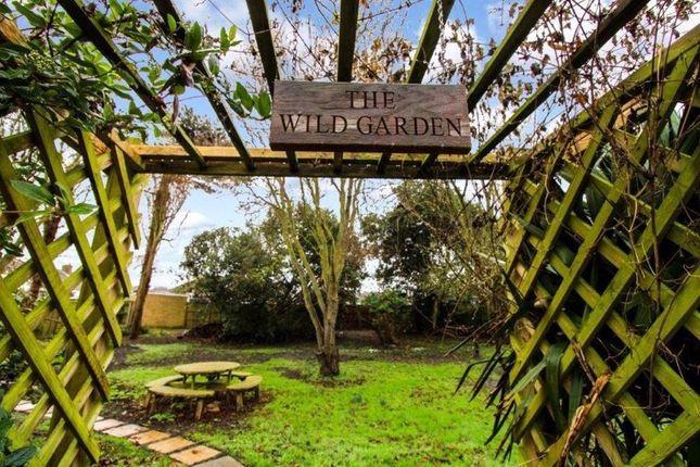 Wild Garden Sign of The Close, Corton, Lowestoft NR32