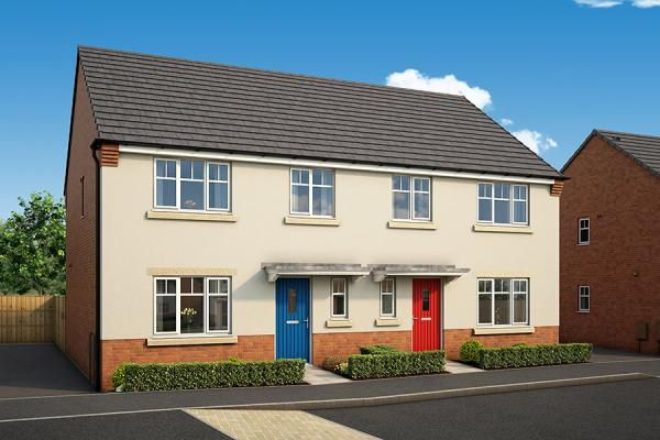 "Thumbnail Property for sale in ""The Laurel At The Willows, Dudley"" at Middlepark Road, Dudley"