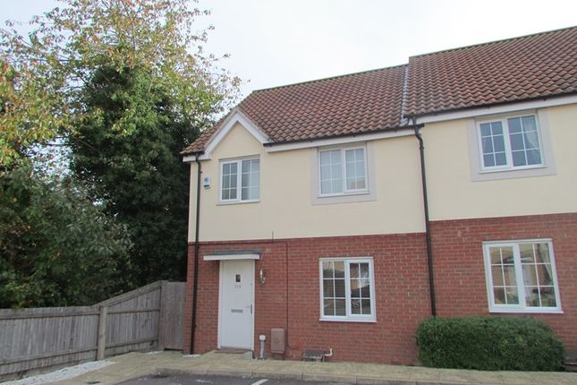 Thumbnail Semi-detached house to rent in Heron Way, Dovercourt, Harwich
