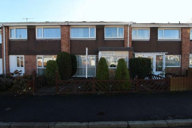 Thumbnail Terraced house to rent in Embleton Drive, Blyth