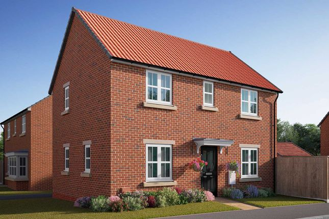 """Thumbnail Semi-detached house for sale in """"The Mountford"""" at Southfield Lane, Tockwith, York"""