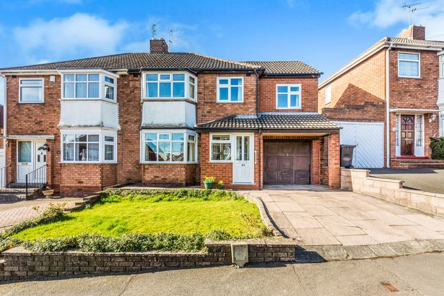 Thumbnail Semi-detached house for sale in Roundhills Road, Hurst Green, Halesowen