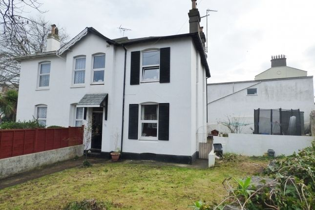 Thumbnail Semi-detached house for sale in Upton Road, Torquay