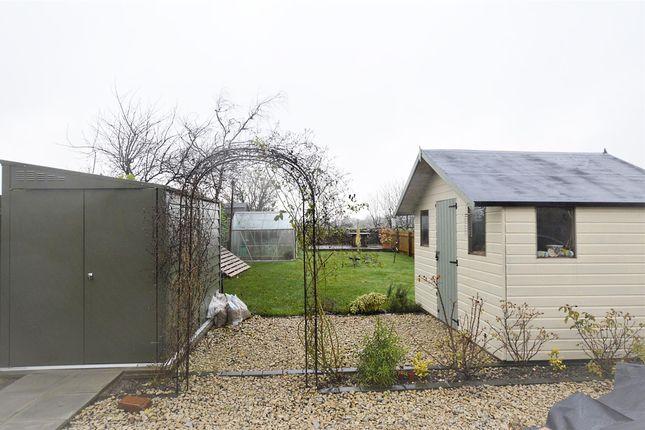 Garden of Mendip Villas, Wells Road, Emborough, Radstock BA3