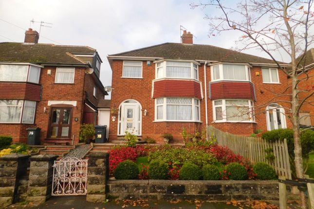 Thumbnail Semi-detached house for sale in Kingshurst Road, Birmingham
