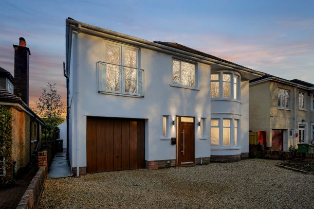 Thumbnail Detached house for sale in King George V Drive, Cardiff