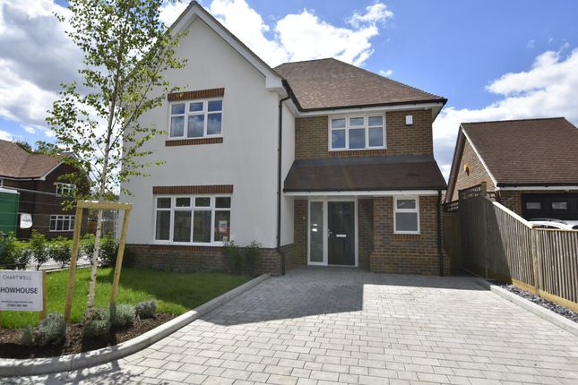 Thumbnail Detached house for sale in Campbell Close, Hookwood, Horley, Surrey