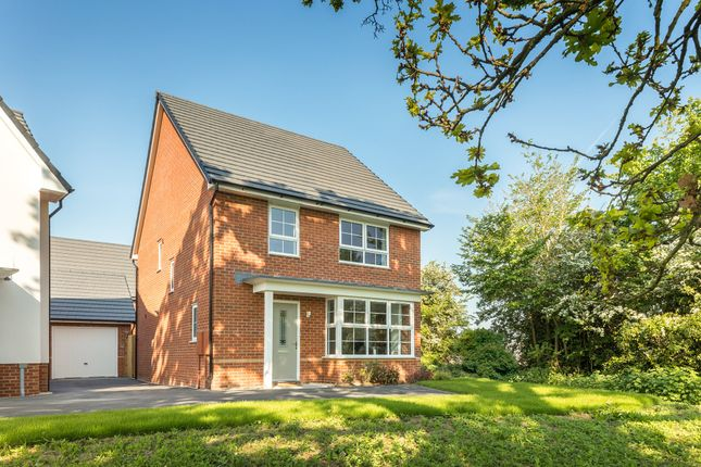 "Thumbnail Detached house for sale in ""Chesham"" at Gilhespy Way, Westbury"