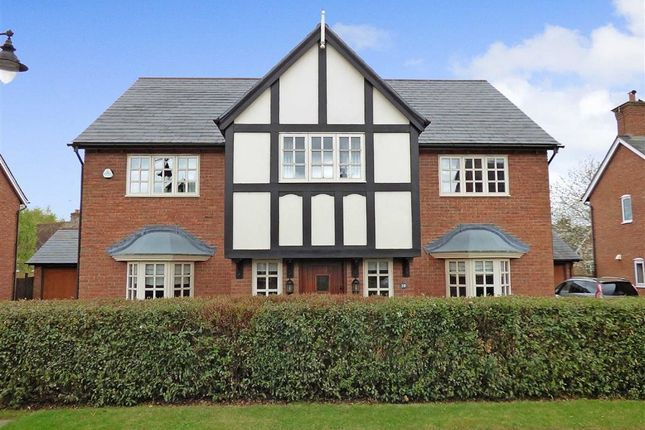 Thumbnail Detached house for sale in Chiltern Close, Wychwood Park, Crewe