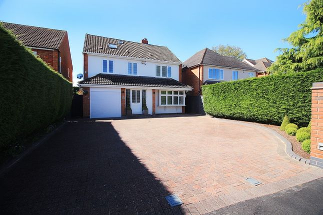 Thumbnail Detached house for sale in Southfields Road, Shirley, Solihull