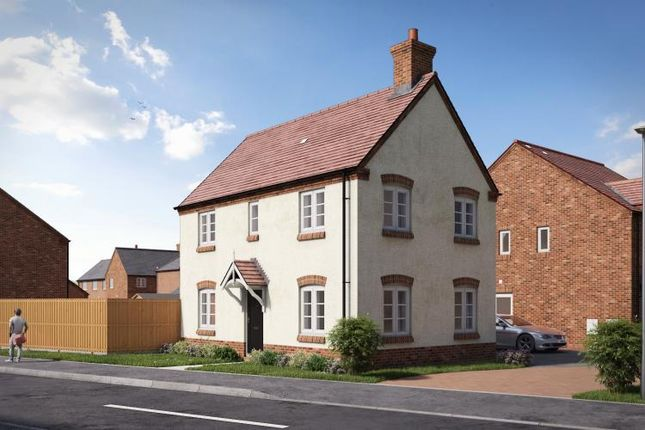 Thumbnail Detached house for sale in Upton Snodsbury Road, Pinvin, Worcestershire