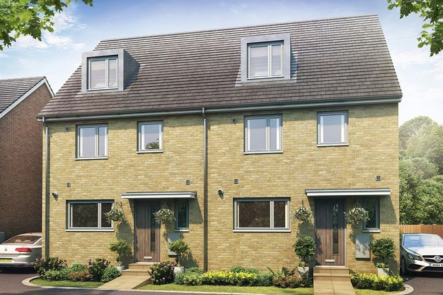 """Thumbnail Semi-detached house for sale in """"The Leicester"""" at Goldsel Road, Swanley"""