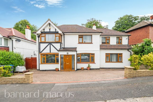 Thumbnail Detached house for sale in Purley Oaks Road, Sanderstead, South Croydon
