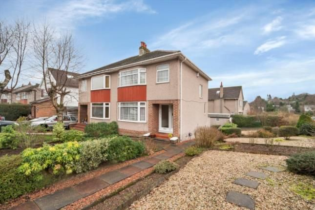 3 bed semi-detached house for sale in Dumgoyne Drive, Bearsden, Glasgow, East Dunbartonshire