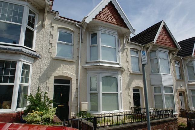 Thumbnail Terraced house to rent in Ernald Place, Uplands, Swansea